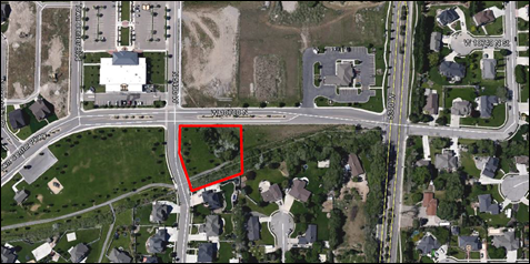 Town Center Proposed Park Maint Bldg Location