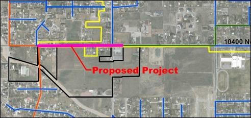 2015-06-16 Sewer Line Expansion 10400 N